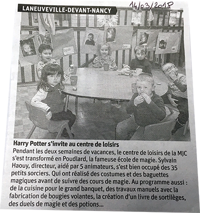 Harry Potter à la MJC
